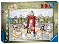 Crazy Cats - Lost in the post- 1000 Pieces |Ravensburger